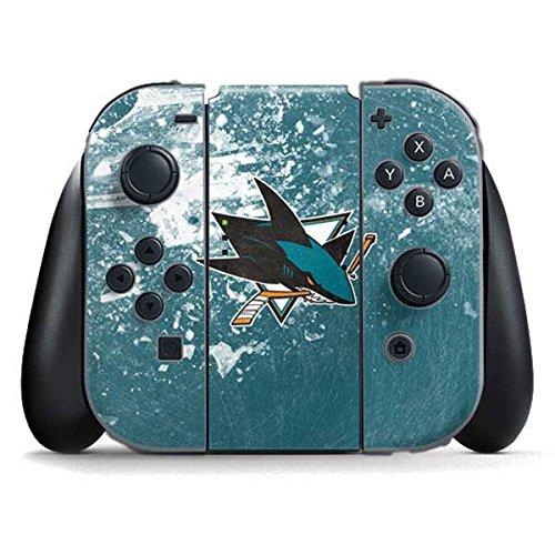 Nhl Skin - San Jose Sharks Nintendo Switch Joy Con Controller Skin - San Jose Sharks Frozen | NHL & Skinit Skin
