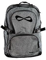 Nfinity Grey/Black Sparkle Backpack