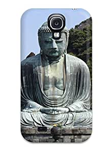 Awesome Buddhism Flip Case With Fashion Design For Galaxy S4