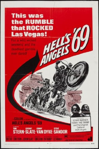 Movie Hell Poster - Hells Angels 69 Movie Poster 24inx36in