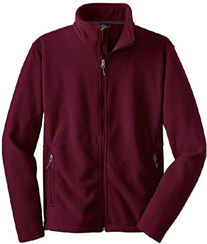 Joe's USA(tm) - Mens Soft Midweight Fleece Jacket, 2XL (Logo Fleece Pullover Jacket)