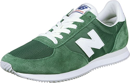New Balance Unisex Adults' Calzado U220cg Verde Fitness Shoes, Green Team Forest White