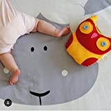 Abreeze Sheep Design Baby Round Play Pad Crawling