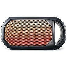 Grace Digital ECOXGEAR ECOSTONE Portable Outdoor Bluetooth Speaker - Retail Packaging - Orange