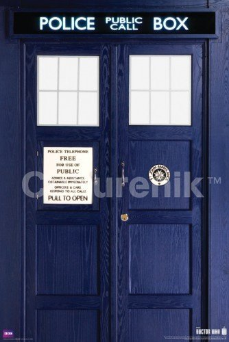 Doctor Who Eleventh Doctor Tardis Poster