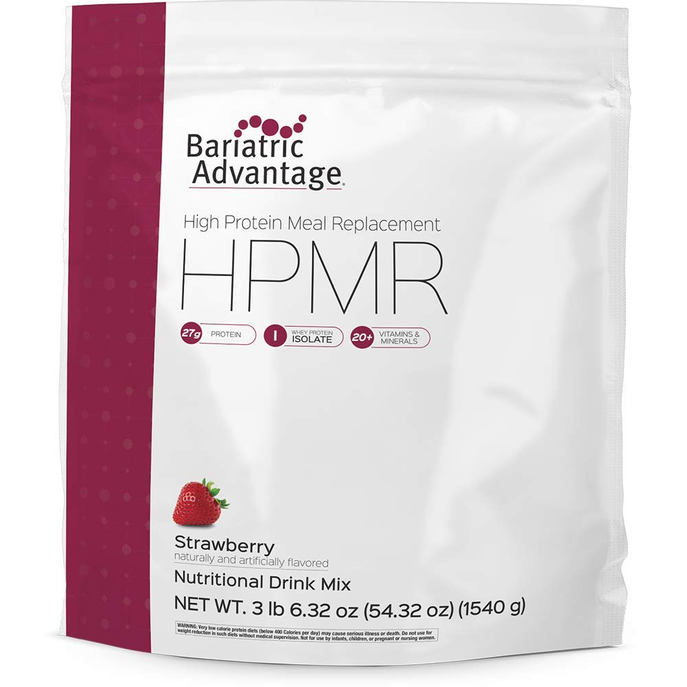 Bariatric Advantage Meal Replacement Powder (35 servings) Strawberry, 54.32 oz