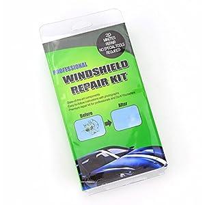 iropro¨ Windshield Chip Crack Premium Repair Kit Wind Screen Auto Glass Genuine DIY