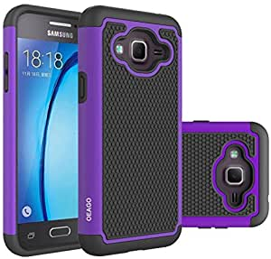 Amazon.com: Galaxy J3 Case, Galaxy Amp Prime Case, Galaxy ...