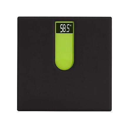 GUOYUN Black Green Escalas electrónicas precisas Escalas de la salud Escala del cuerpo Moderno Simple interior