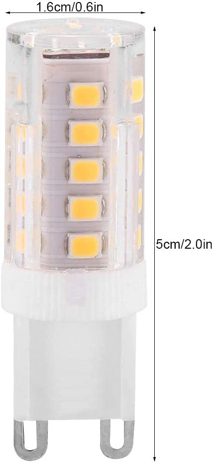 3.5W 33LEDs Warm White G9 2835 220V LED Dimmable Energy Saving Lamp Ceramic Corn Bulb