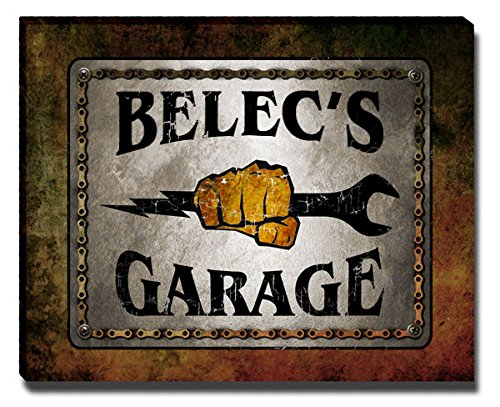 ZuWEE Belec Family Garage Gallery Wrapped Canvas Print from ZuWEE