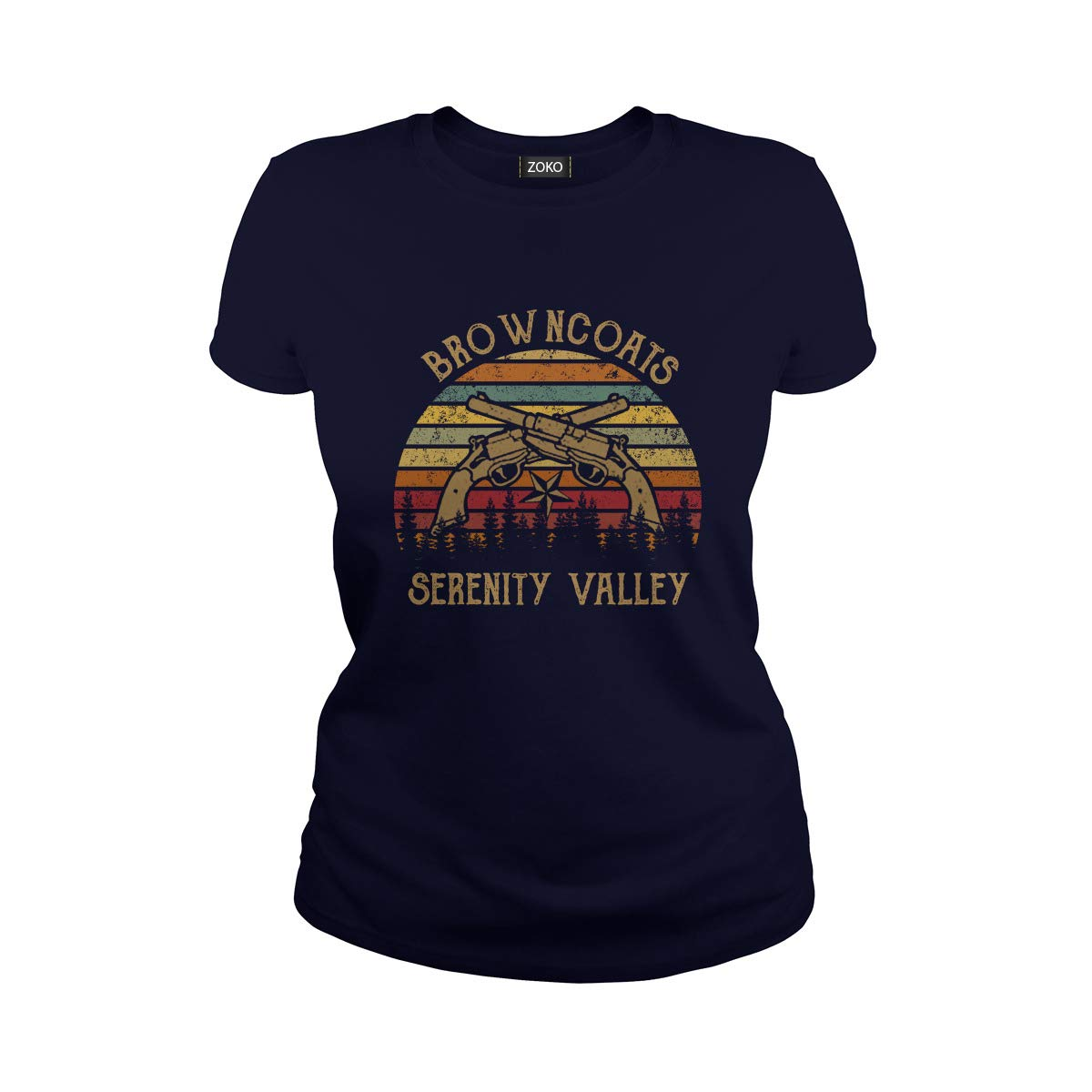 Browncoats Serenity Valley Vintage T-Shirt