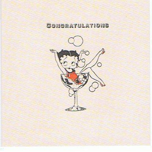 Betty Boop - Felicidades feliz cumpleaños tarjeta BET26 ...