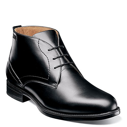 Florsheim Midtown Waterproof Chukka Boot Black Smooth 9.5