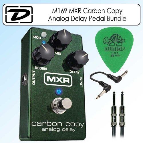 M169 Carbon Analog Delay Pedal product image