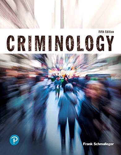 Criminology (Justice Series) (5th Edition)