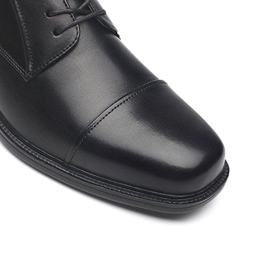 La Milano Wide Width Mens Oxford Shoes Mens Dress Shoes Wide-1-black 8bzCc