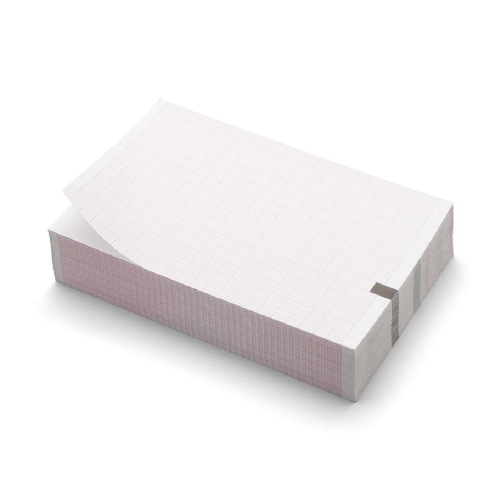 Welchallyn 406021 CP 50 ECG de repos papier d'impression/Pliage en Z, 4 packs/Coque (lot de 4) 4packs/Coque (lot de 4)