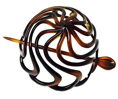 Parcelona French Swirls Celluloid Tortoise