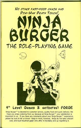 Amazon.com: Ninja Burger: The Role-Playing Game: Michael ...