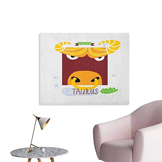 Anzhutwelve Zodiac Scorpio Home Decor - Póster de Pared con diseño ...