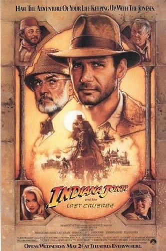 Indiana Jones and the Last Crusade Movie Poster Regular