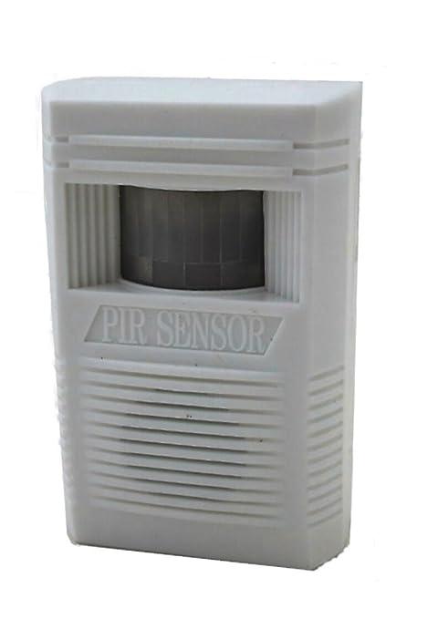 Detector de movimiento con sensor de infrarrojos operativos como Paso o Alarma