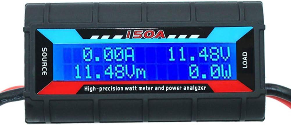 150A 60V Digital LCD High Precision RC Watt Meter /& Power Tester Analyzer