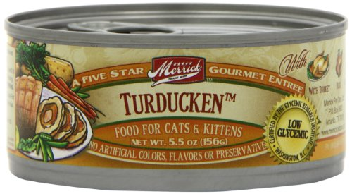 Merrick Turducken Cat Food 5.5 oz (24 Count Case), My Pet Supplies