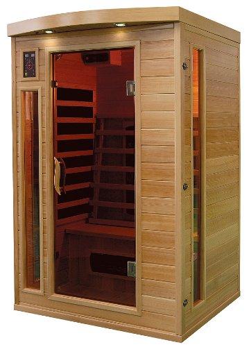 Trade Line Partner Cabina Sauna A Infrarossi Angolare A 2 Posti - Cabina-sauna