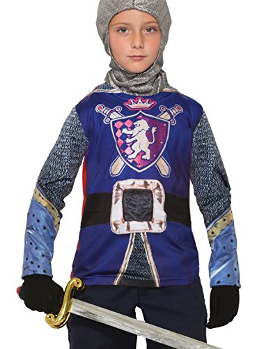 [Forum Novelties Kids Knight Costume, Multicolor, Large] (Shining Knight Costumes)