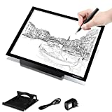 A3 LED Tracing Light Box USB Powered Ultra-Thin 19 inch Drawing Light Pad for Tattoo Drawing, Stencil, Sketching