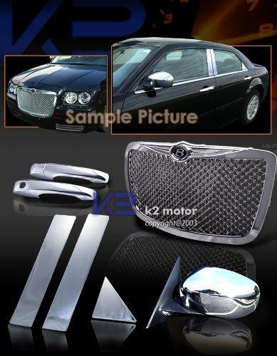 Grill Door Handle (2005 2006 2007 2008 2009 Chrysler 300 300c Grill+pillar+door Handle+mirror Combo)
