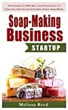 img - for Soap Making Business StartUp: Your Complete DIY Melt and Pour Guide to Crafting and Selling Colorful Soaps from Home (Soap Making Melt and Pour Guide, ... Making Recipes) (Soap Making Recipe Book) book / textbook / text book