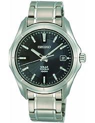 Seiko Mens SNE141P1 Titanium Watch