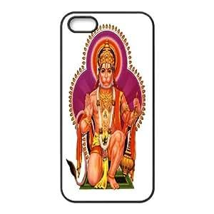 Hanuman Design Unique Customized Hard Case Cover for iPhone 5,5S, Hanuman iPhone 5,5S Cover Case