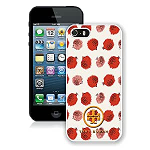 Fahionable Custom Designed iPhone 5S Cover Case With Tory Burch 10 White Phone Case