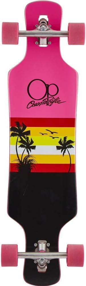 Ocean Pacific Sunset Longboard Komplettboard 36 - Schwarz