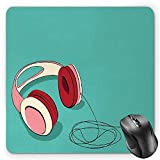 Best Headphones For Listening To Musics - BGLKCS Indie Mouse Pad by, Cool Pink Retro Review