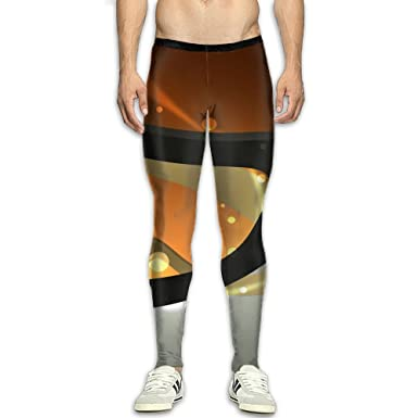 008619542869c Amazon.com: CXGFHWE Men¡¯s Compression Orange Black Stripes Pants Baselayer  Running Tights 3D Print Fitness Sports Leggings: Clothing