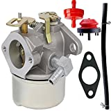 tecumseh two cycle - Carburetor for Tecumseh 640298 OHSK70 OH195SA Engines 5.5hp 7hp Models Oregon 50-666 for Many 2 Stage Snow Blowers 4 Cycle Engines - Tecumseh 640298 Carburetor (640298)