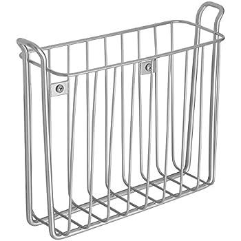 Amazon Com 2 Ikea Spontan Silver Magazine Racks Holders