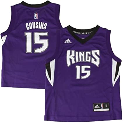 591af1f2d ... purchase preschool sacramento kings demarcus cousins adidas purple  replica jersey a8893 f8b0a