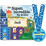 Personalized Big Brother Gift Newborn New Baby Hospital...