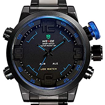 Topwell® Men Wristwatches Fashion Casual Quartz Watch Dress Relogio Masculino Military Digit Watches Men Sports