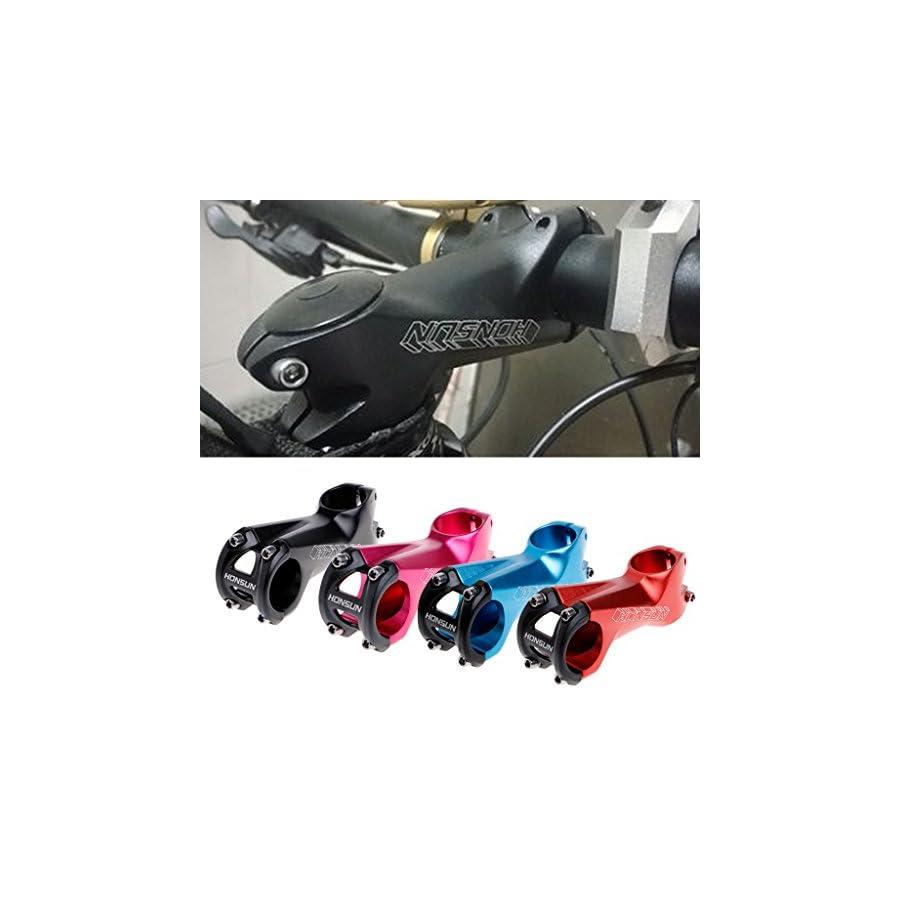 Usdepant Bike Handlebar Stem, Aluminum alloy MTB Road Bicycle Handlebar Stems 7 Degree 31.8x80mm
