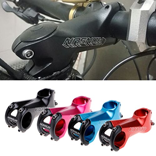 Usdepant Bike Handlebar Stem, Aluminum alloy MTB Road Bicycle Handlebar Stems 7 Degree 31.8x80mm