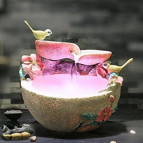Amazon.com: Creative tables living room desktop water fountain ...