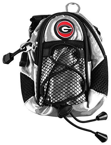 LinksWalker NCAA Georgia Bulldogs Mini Day Pack Silver