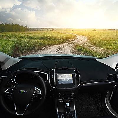 Bwen bg2919a Car Carpet Dashboard Cover,Balck Sun Dash Cover Protector for Ford Edge 2015 2016 2020 2020: Automotive